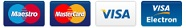 VISA / MasterCard / Electron / Maestro