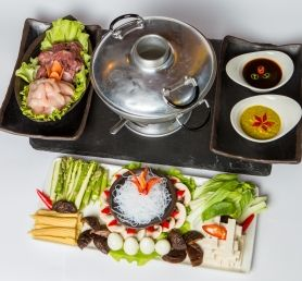 Hot  Pot linnulihaga 4-le