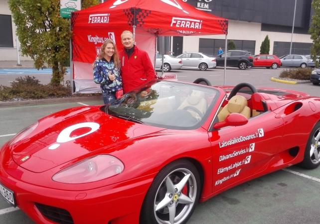 77630701450 Sõit Ferrariga - Ferrari - Superautod - Lõbusõit   Kingitus.ee