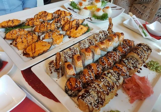 city suhi restaurant takeaway sushi sushi tartus. Black Bedroom Furniture Sets. Home Design Ideas